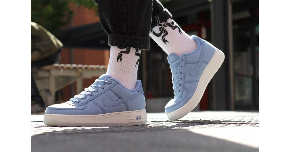 405e44938d2158 Nike Air Force 1 Low Retro Qs Canvas in Blue for Men - Lyst