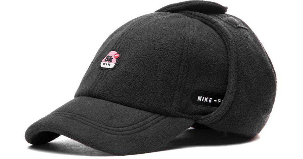 Lyst - Nike X Skepta H86 Earflap Cap in Black for Men 0a2861046fe