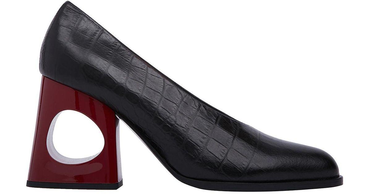 14d94d645d4 Lyst - Marni Pump Shoes in Black