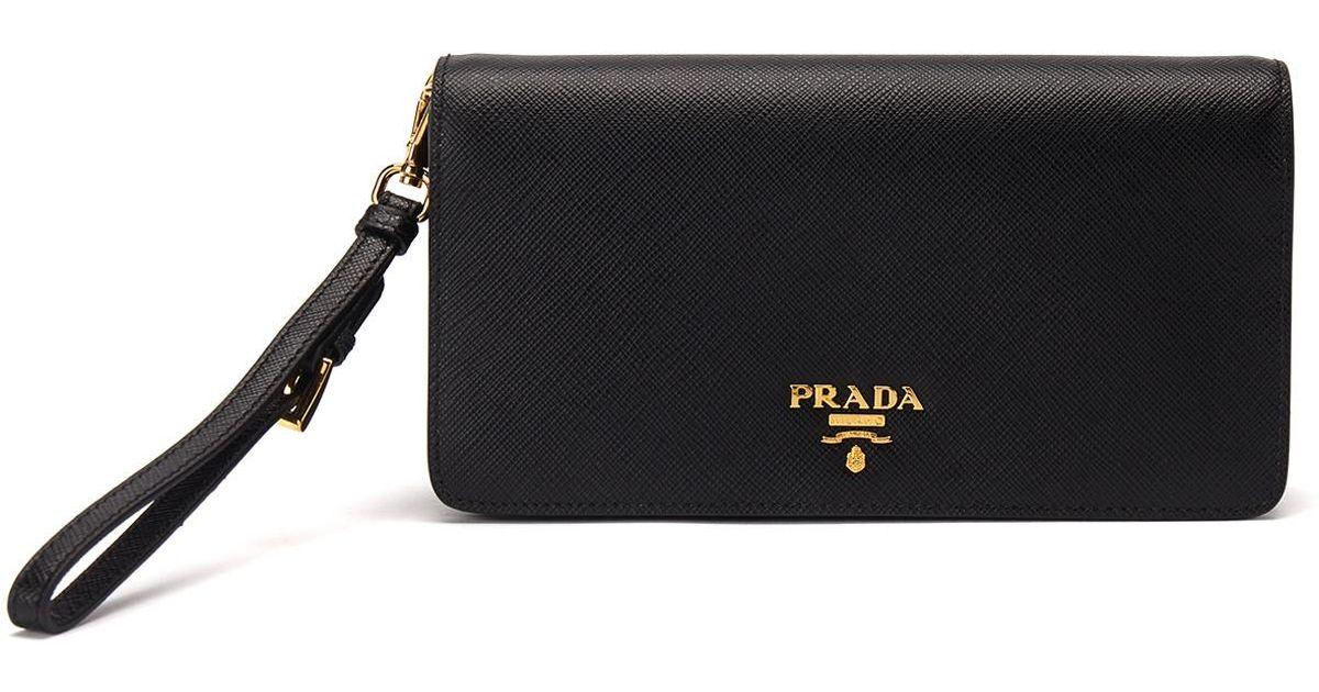 separation shoes 7a060 438a7 Prada - Black Smartphone Case - Lyst
