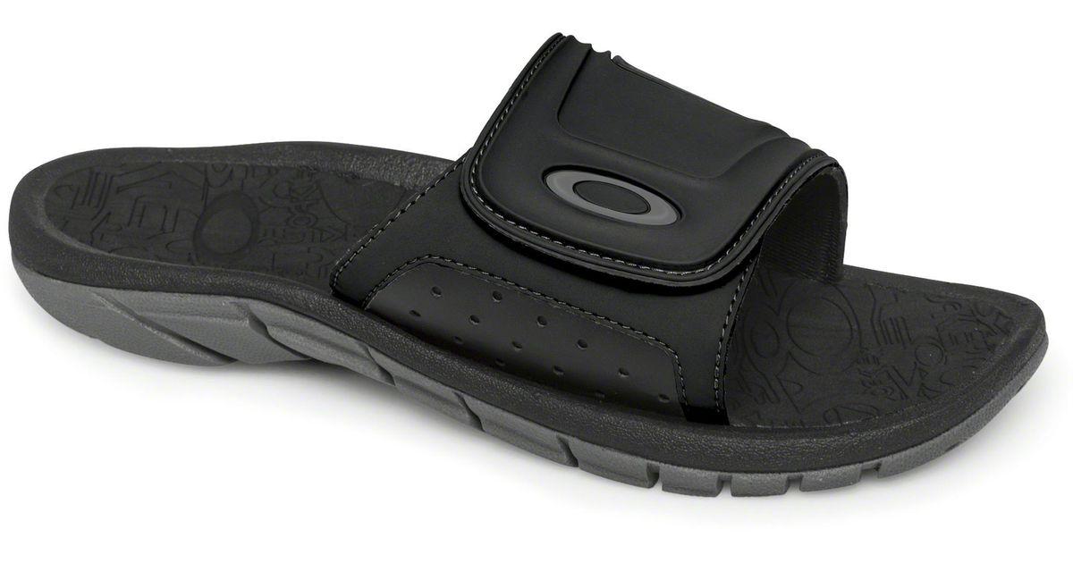 b3cce38de617 Lyst - Oakley Supercoil Slide Sandals in Black for Men
