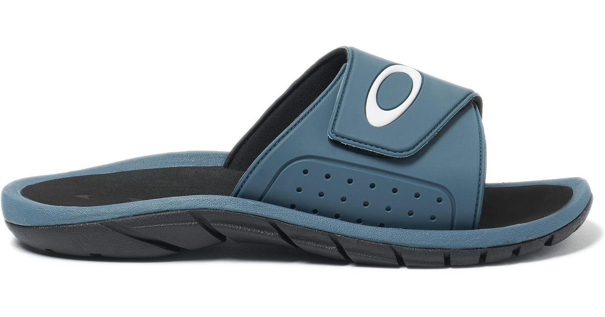 c04562cd7a1 Lyst - Oakley Super Coil Slide 2.5 in Blue for Men
