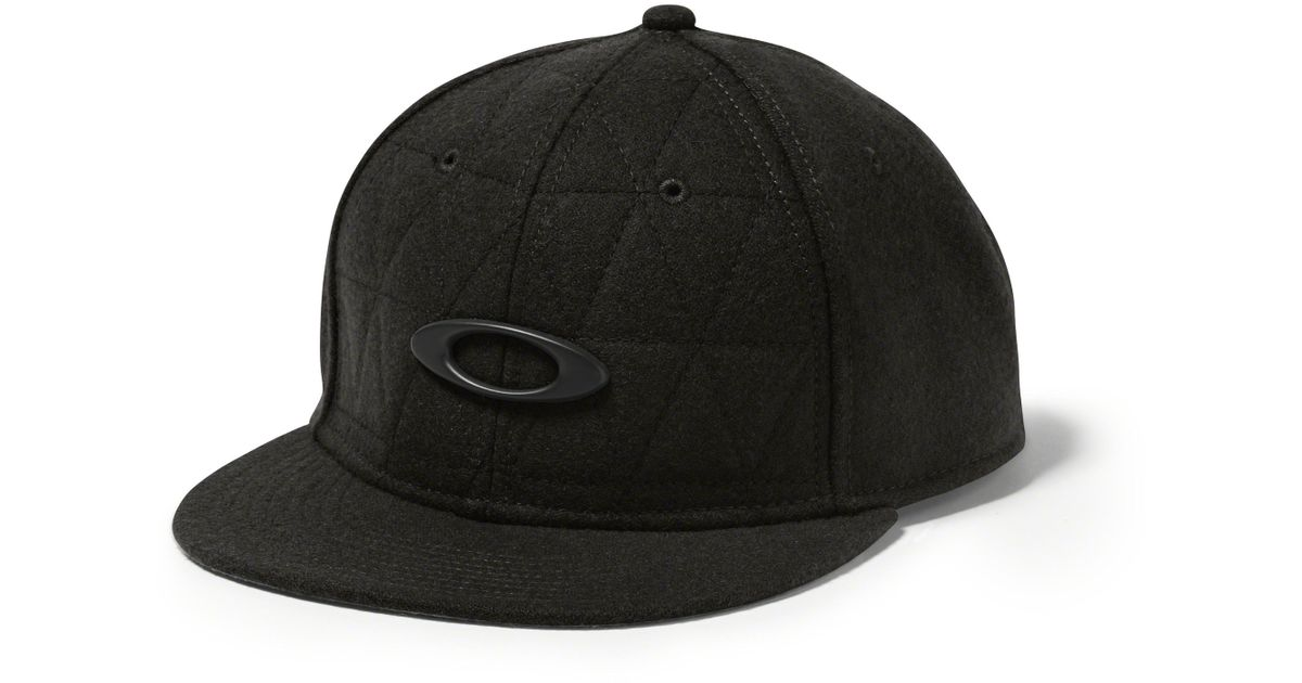 23720c6d32d ... where to buy lyst oakley chips wool hat in black for men 2ad8e efd88