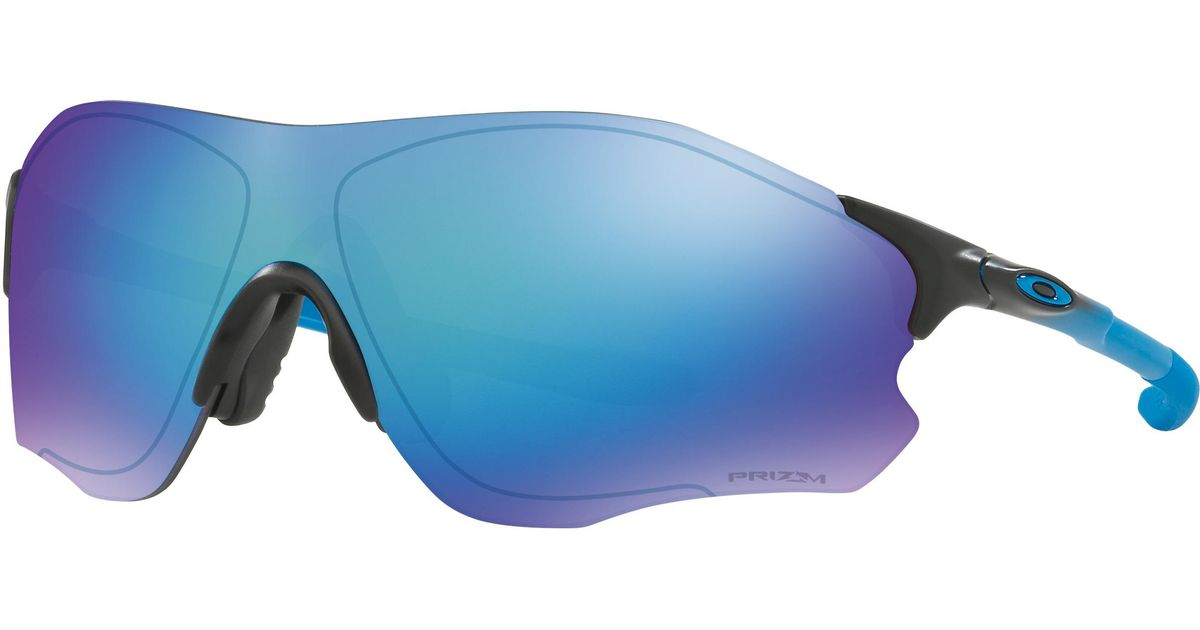 8ad9acdd2b Lyst - Oakley Evzerotm Path® Sapphire Fade Collection in Blue for Men