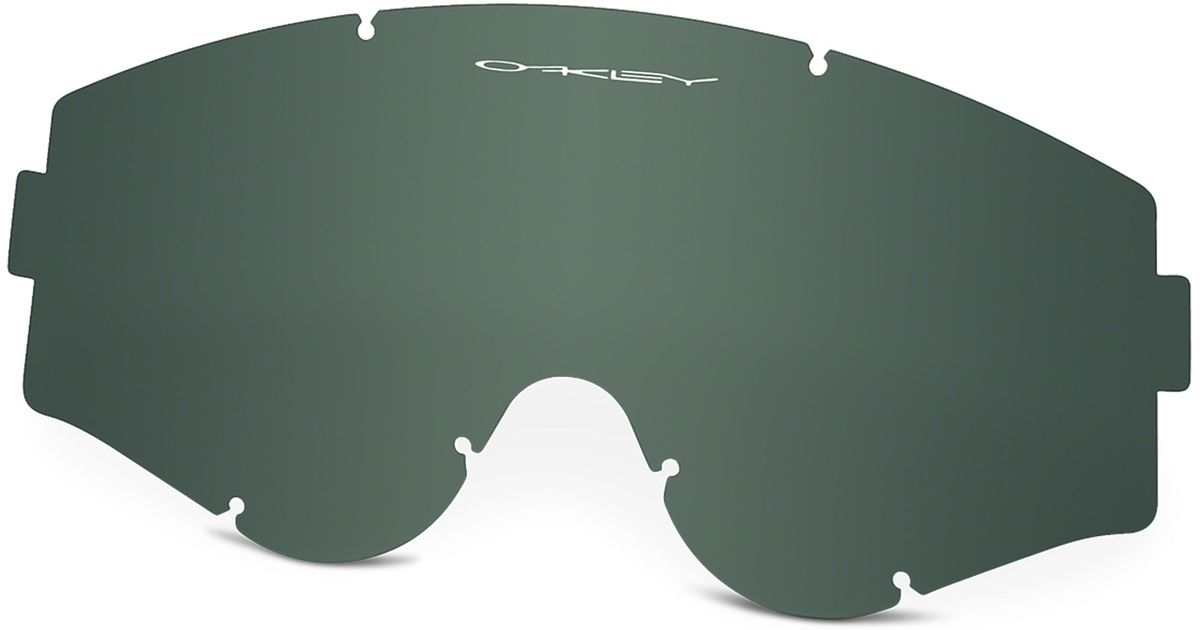 a38ddd3654 Lyst - Oakley L-frame Mx Goggle Replacement Lenses in Green for Men