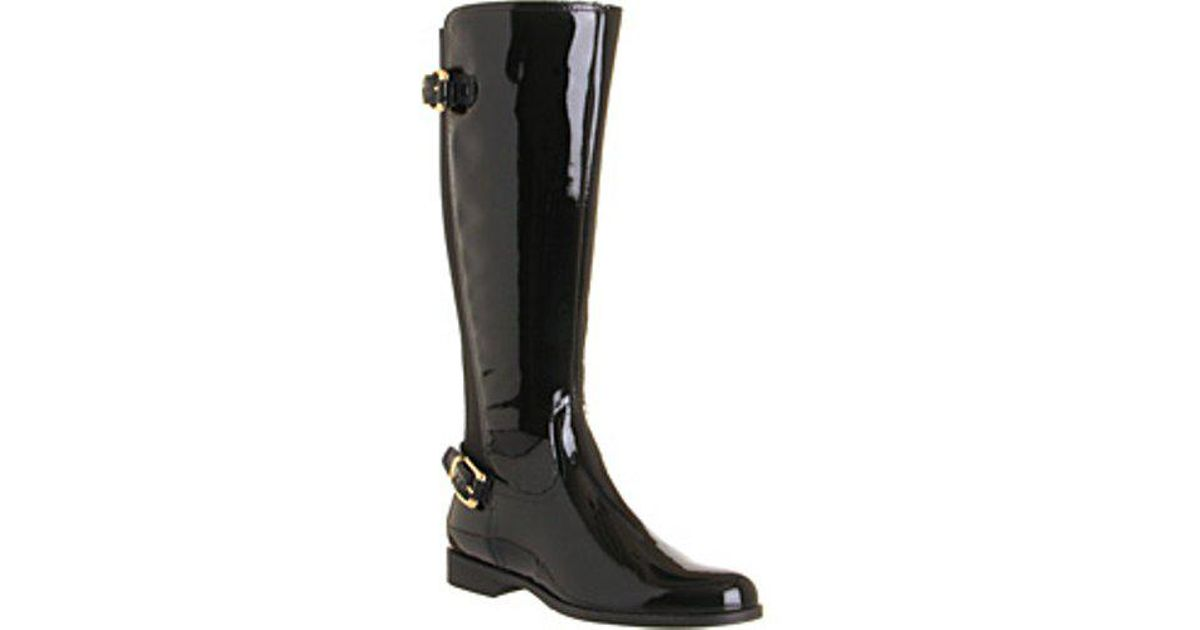 a7789f9ade8 Lyst - Office Agent 2 Elastic Back Knee Boots in Black