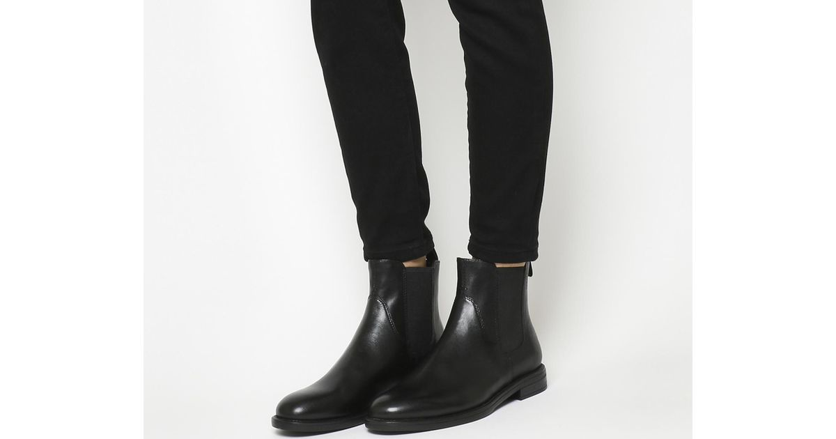 47f5aff6ca495d Vagabond Amina Chelsea Boots in Black - Lyst