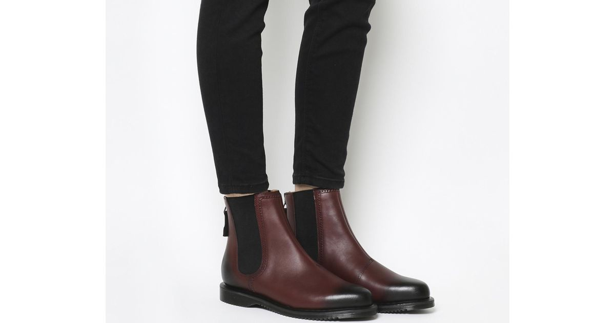 62c0553a6b0 Lyst - Dr. Martens Zillow Chelsea Boots in Brown
