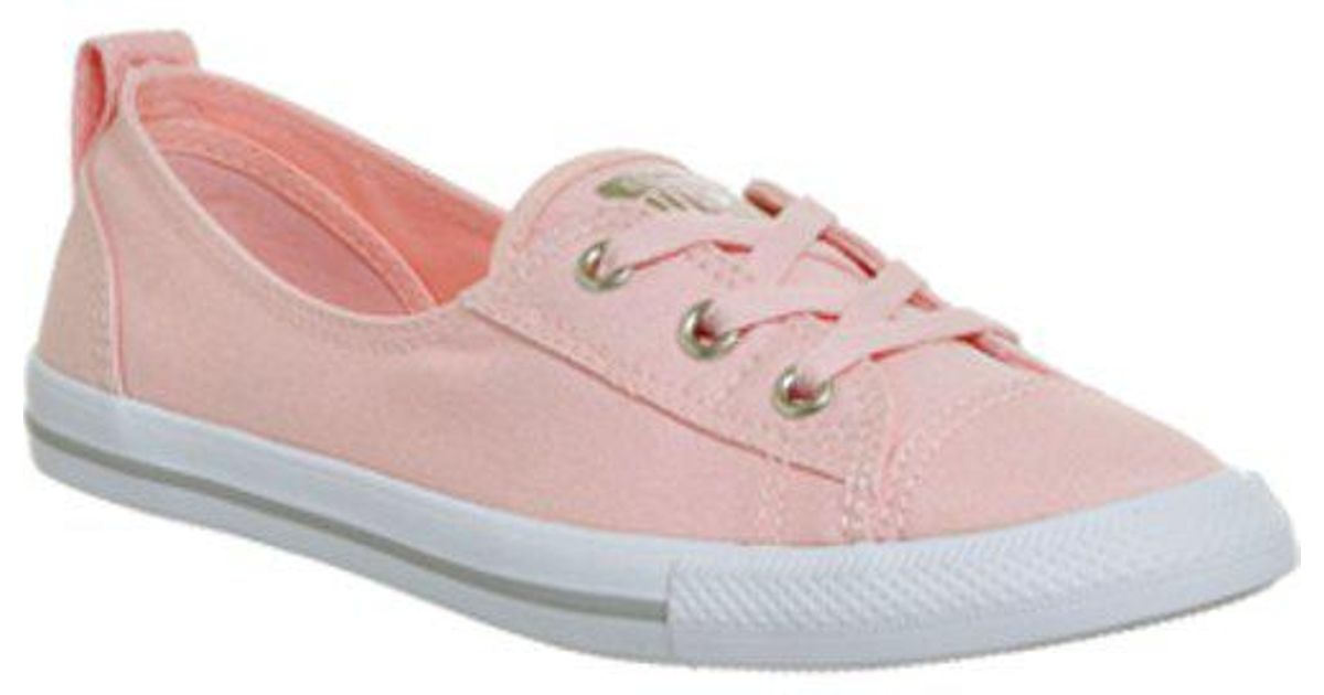 69b3d4b8b43 Lyst - Converse Ctas Ballet Lace in Pink