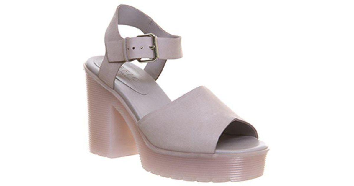 0dce0aaa947 Lyst - Office Wink Chunky Sole Sandals in Purple