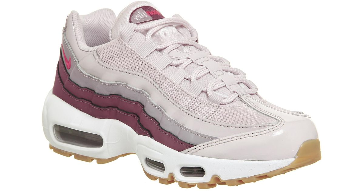 reputable site f061b 97133 Nike - Pink Air Max 95 Trainers - Lyst