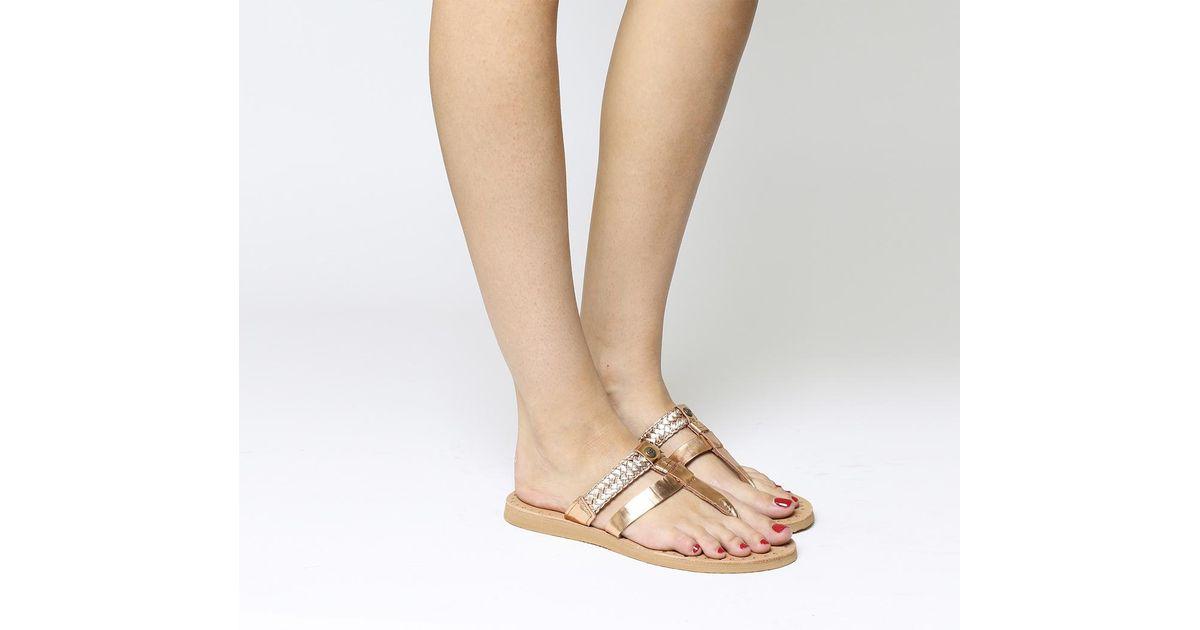 91c7979028f Ugg - Pink Audra Sandal - Lyst