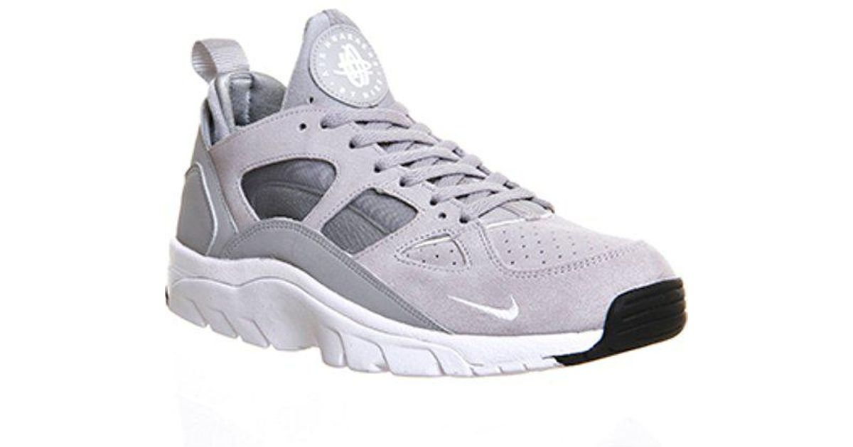 3e0b64a1705f Lyst - Nike Air Trainer Huarache Low in Gray for Men