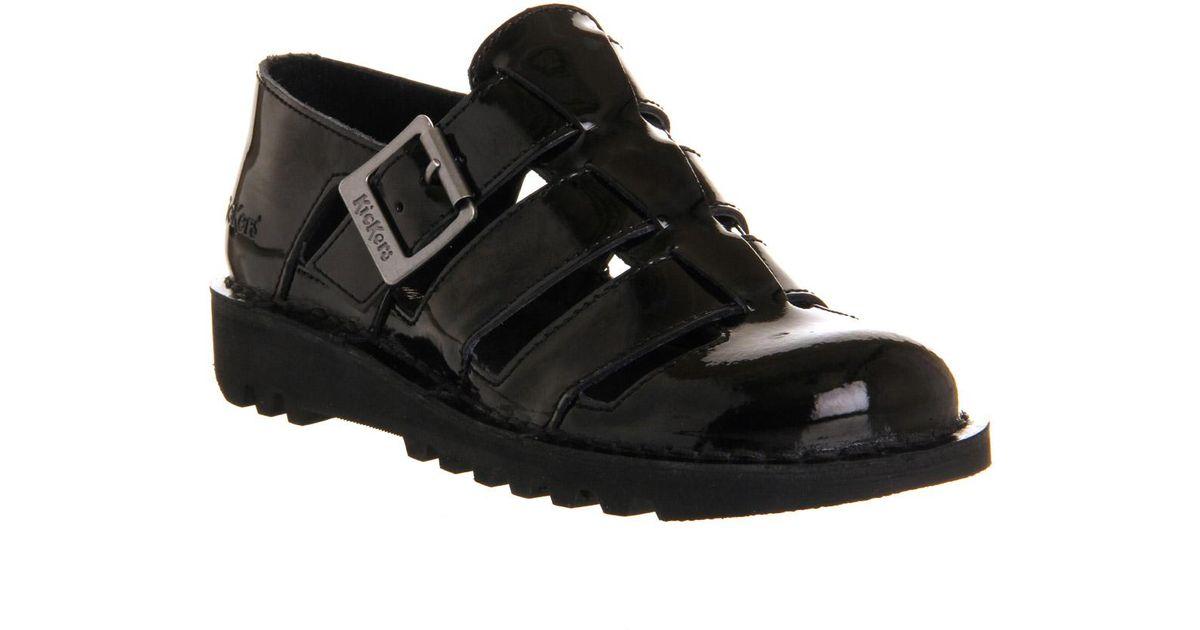 80c3f87f0cd Lyst - Kickers Kick Low Weave in Black