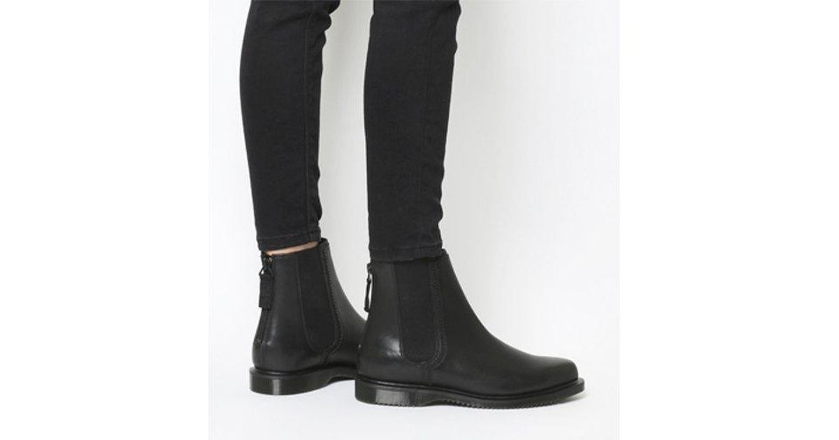 b26d5d700a3 Lyst - Dr. Martens Zillow Chelsea in Black