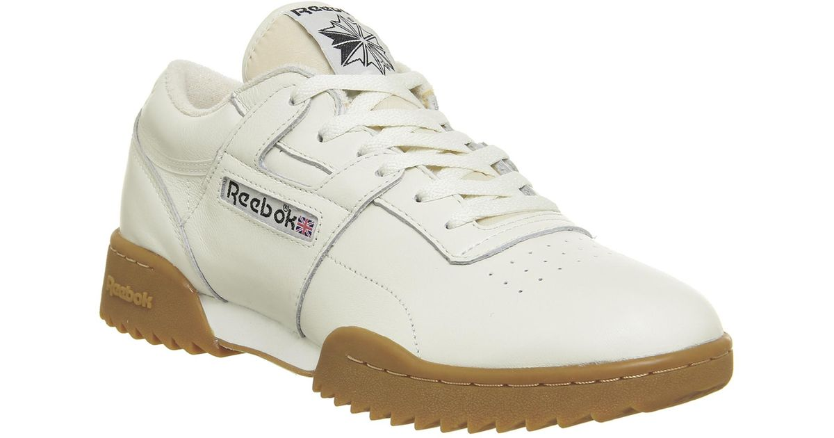 db31007893f046 Reebok Workout Ripple Trainers for Men - Lyst