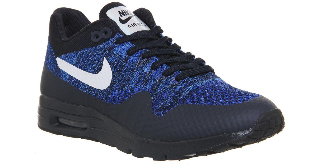 innovative design 933b1 d1a09 Nike - Blue Air Max 1 Ultra Flyknit - Lyst