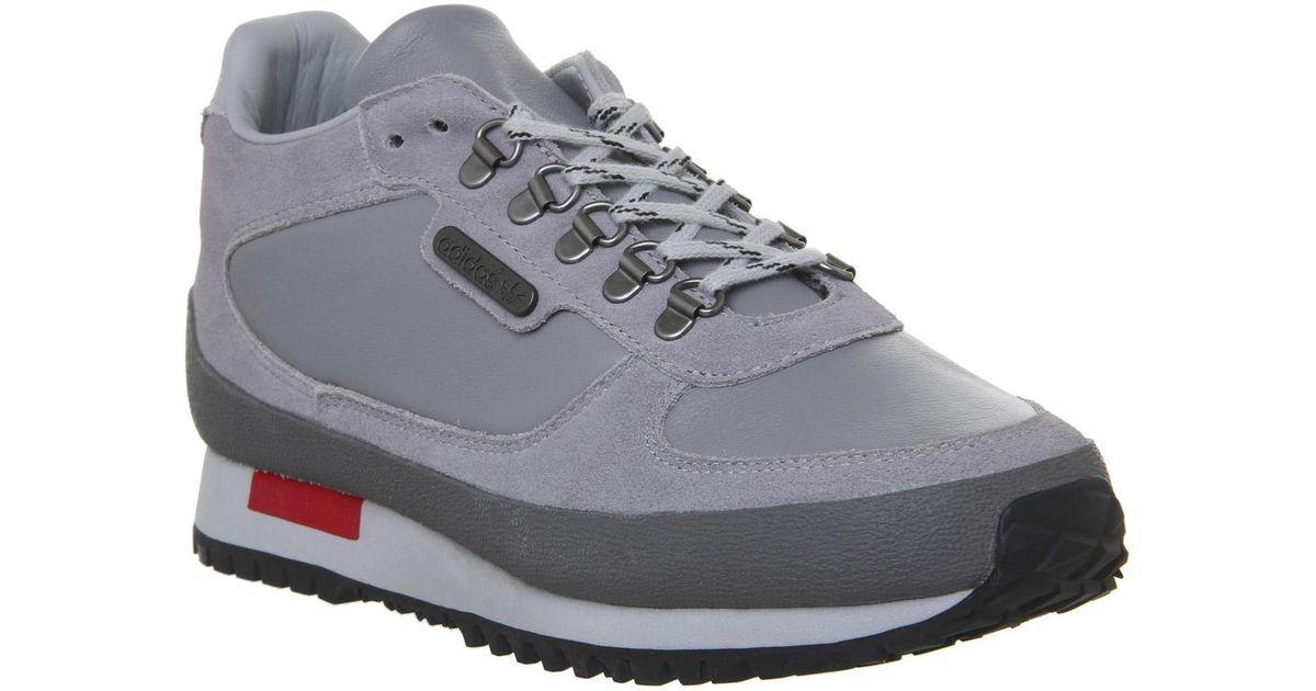 b1d2643a68b Adidas Winterhill Spzl Trainers in Gray for Men - Lyst