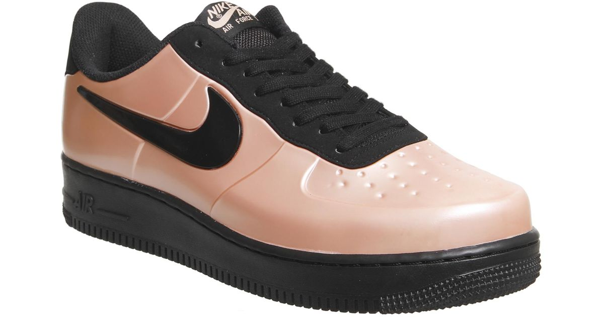 8517593c0f890 Lyst - Nike Air Force 1 Foamposite Pro Trainers in Black for Men