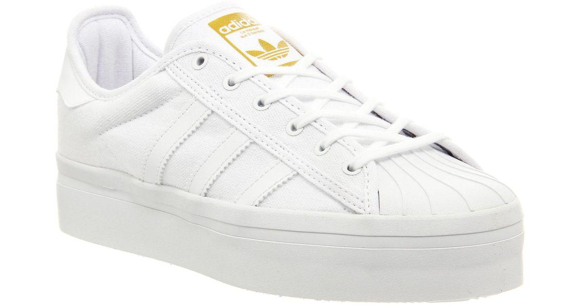adidas superstar rize white