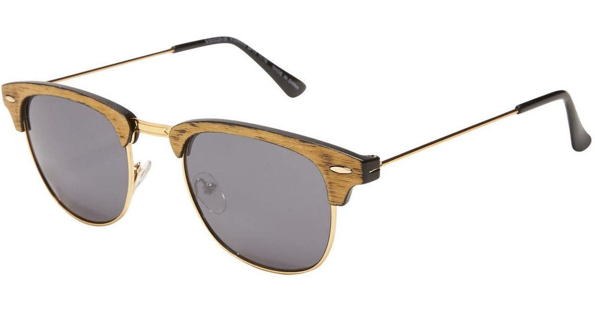 13eb706f8a8 Lyst - Old Navy Half-frame Sunglasses in Brown