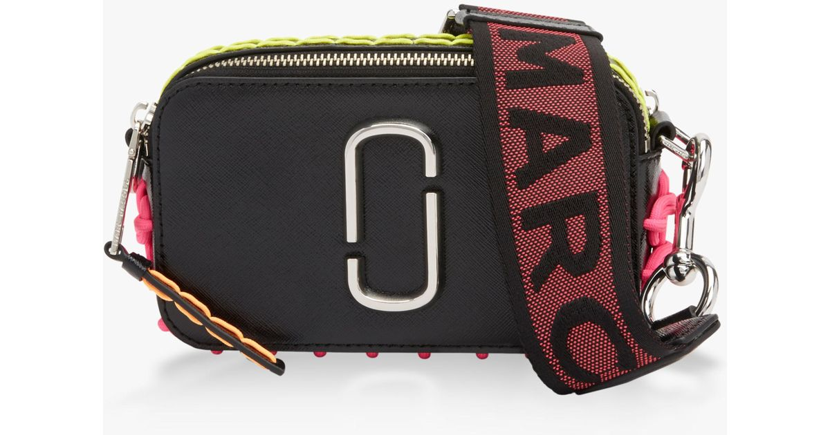 3c2f9daa008c Lyst - Marc Jacobs Snapshot Whipstitch Camera Bag in Black - Save 80%