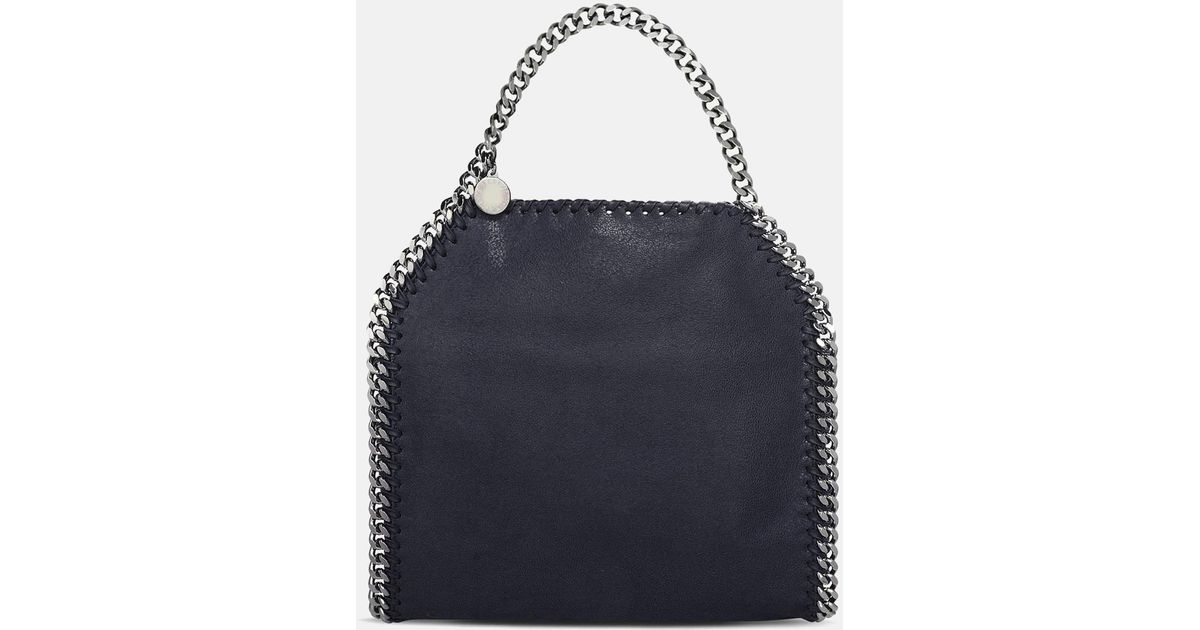 0adcb30ca632 Lyst - Stella McCartney Navy Falabella Deer Mini Tote in Blue