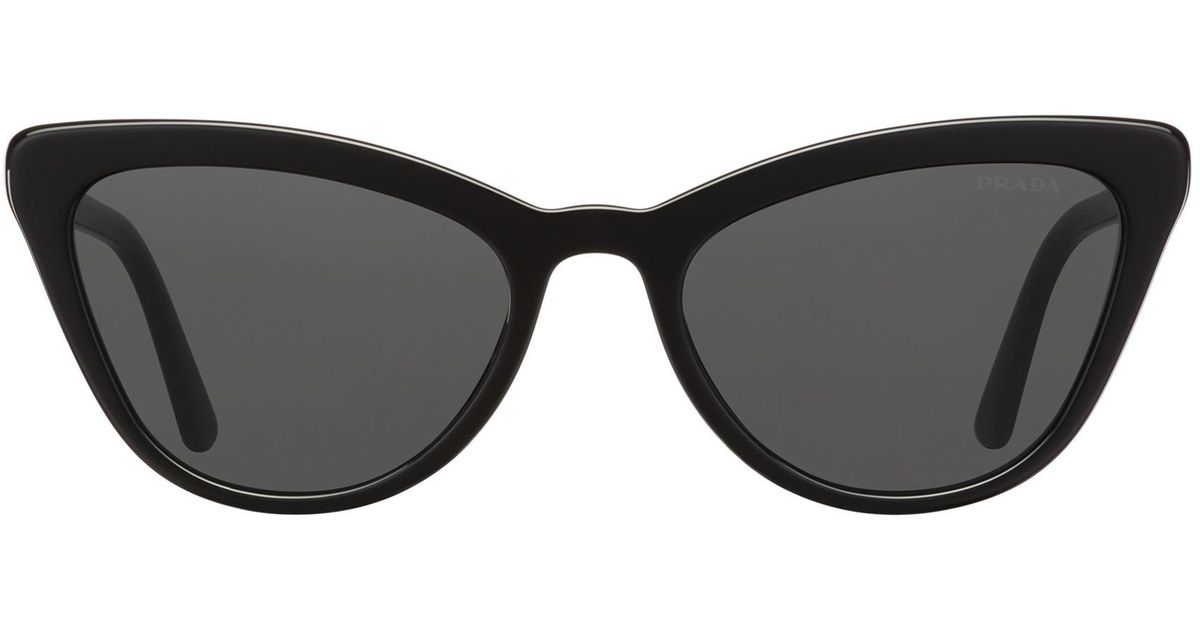 784c3d277 Prada Ultravox Sunglasses Alternative Fit in Black - Lyst