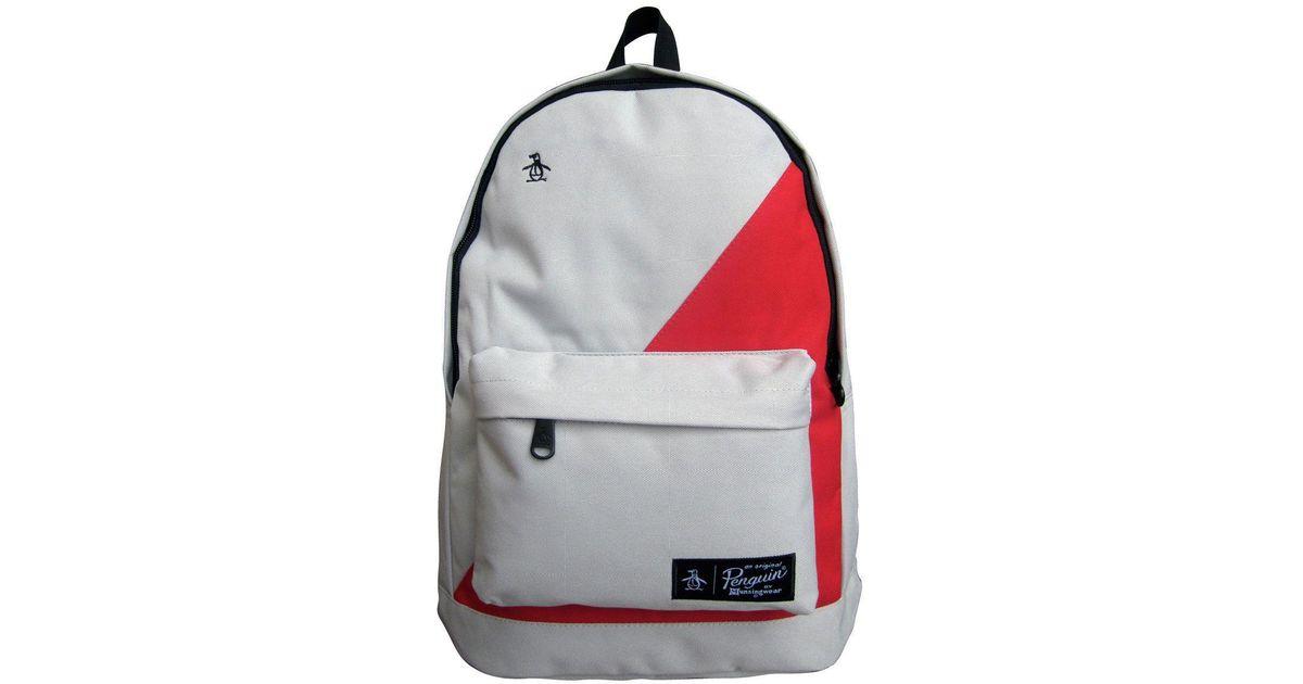 Original Penguin Homboldt Block Backpack for Men - Lyst 91b2b3201e75e