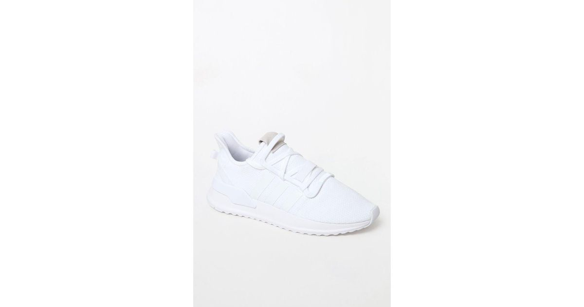 huge discount c128f 59754 adidas White U Path Run Shoes in White for Men - Lyst