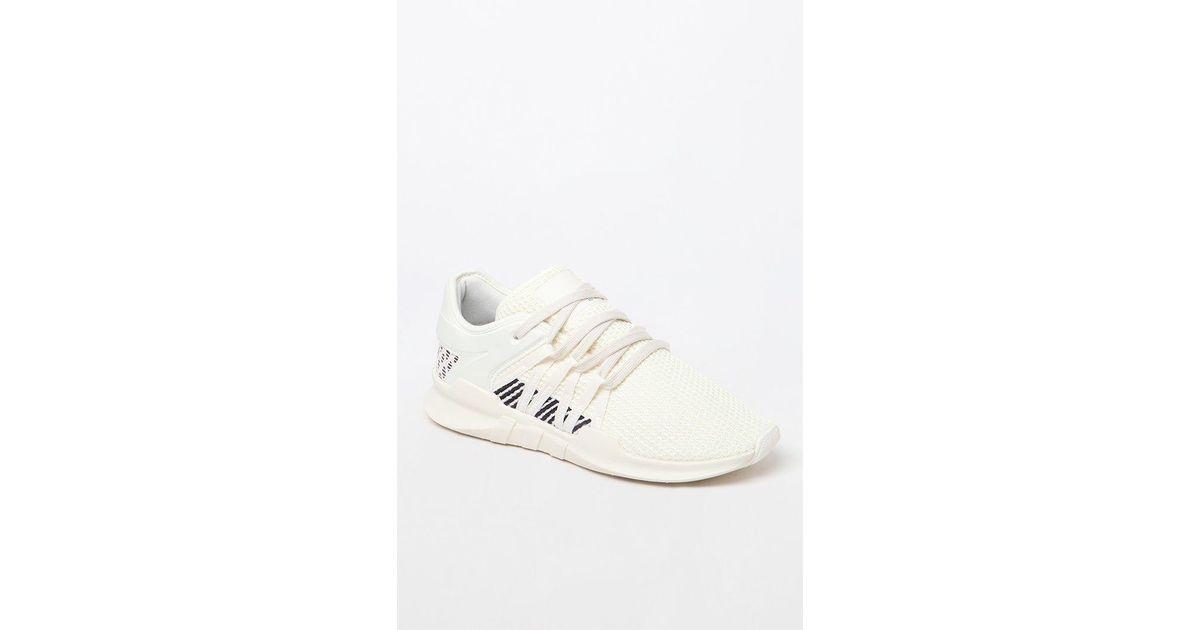 Lyst - adidas Women s Eqt Racing Adv Sneakers in White 1f54694e9e
