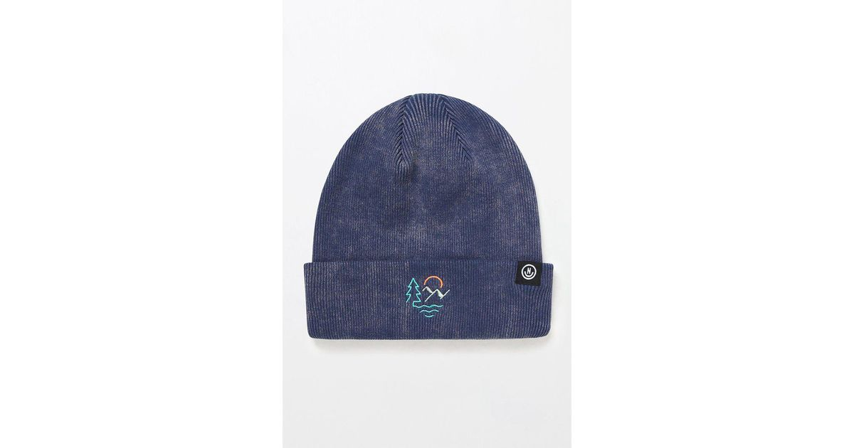 f2709974fa929 Lyst - Neff Out There Beanie in Blue for Men