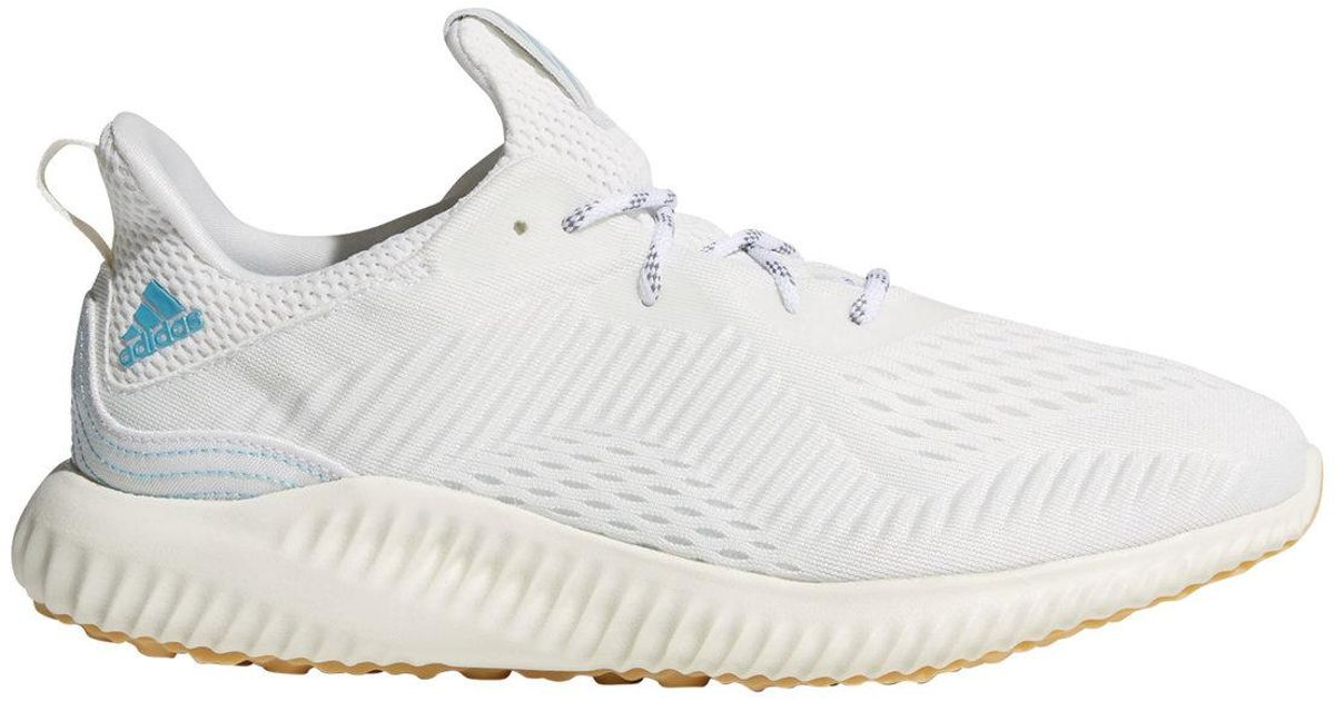 buy popular b4ade cf767 Lyst - adidas Alphabounce Parley Running Shoes in White for