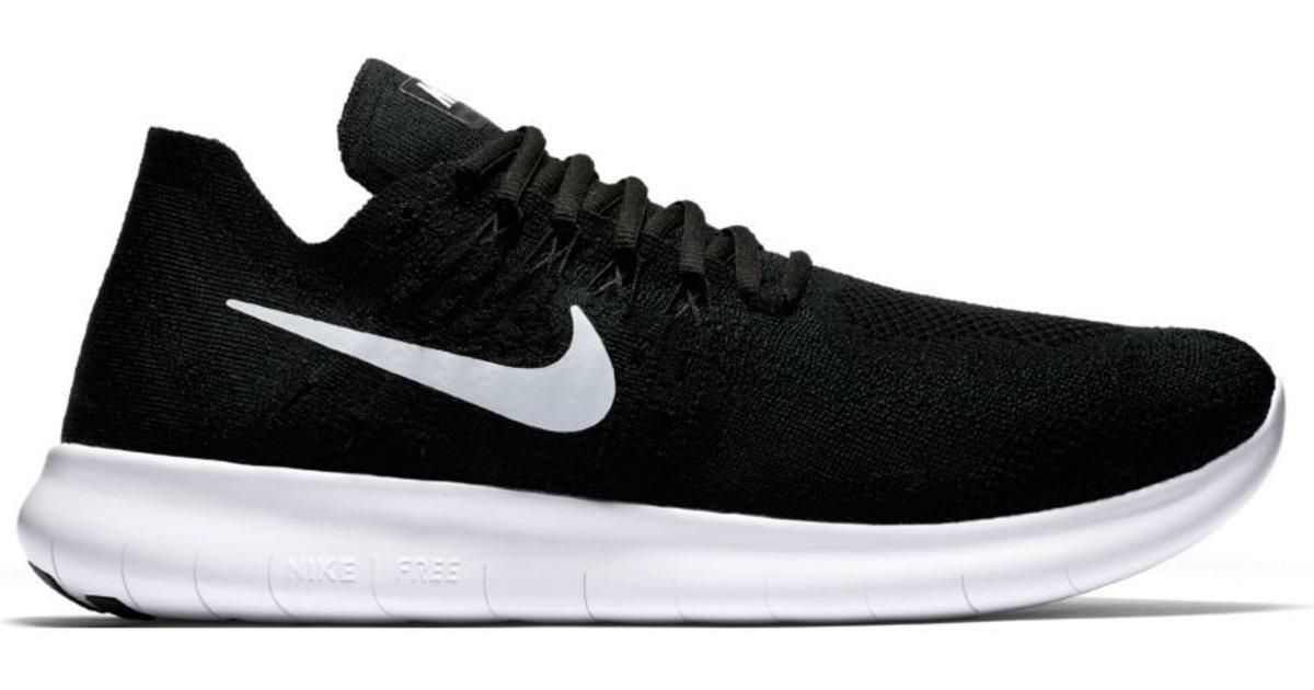 Nike - Black Free Run Flyknit 2 for Men - Lyst