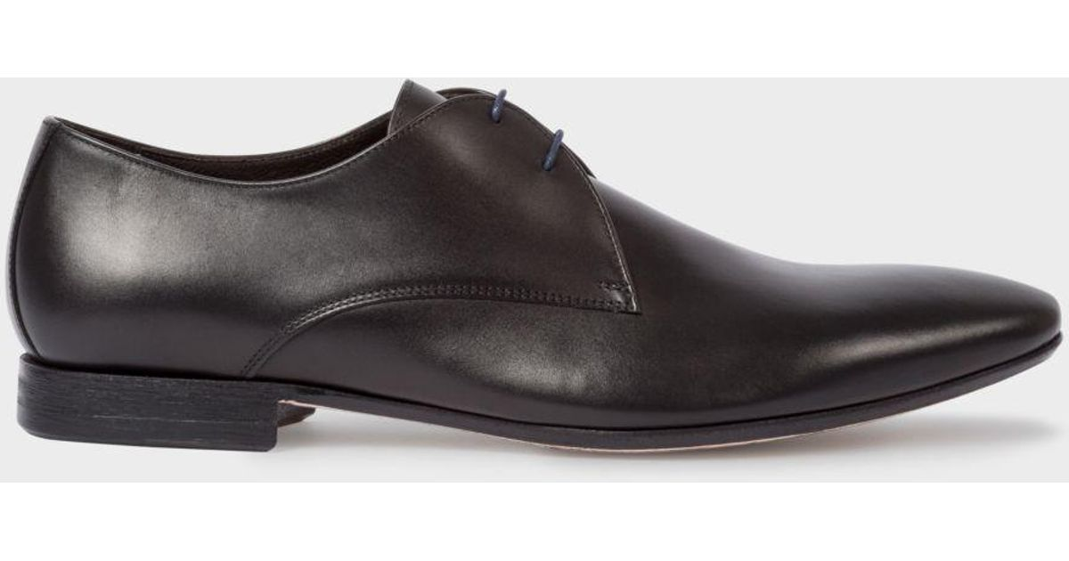 1368f071bb6 Paul Smith Men's Black Leather 'Pitney' Shoes in Black for Men - Lyst