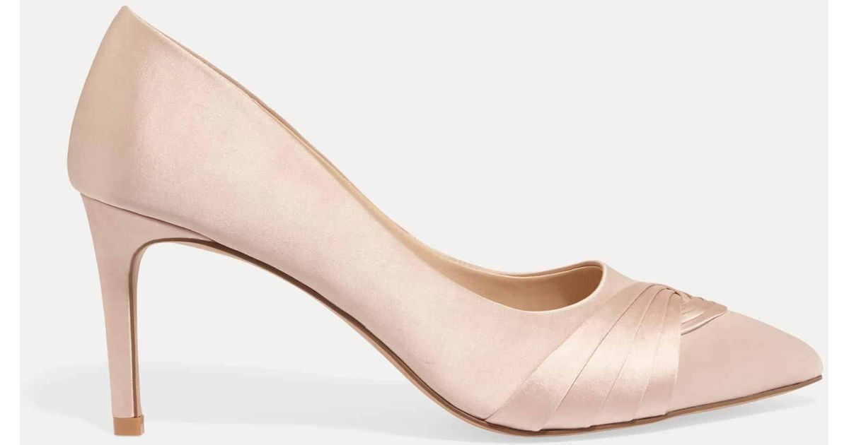 95756908566b Phase Eight Rosie Satin Court Shoes - Lyst