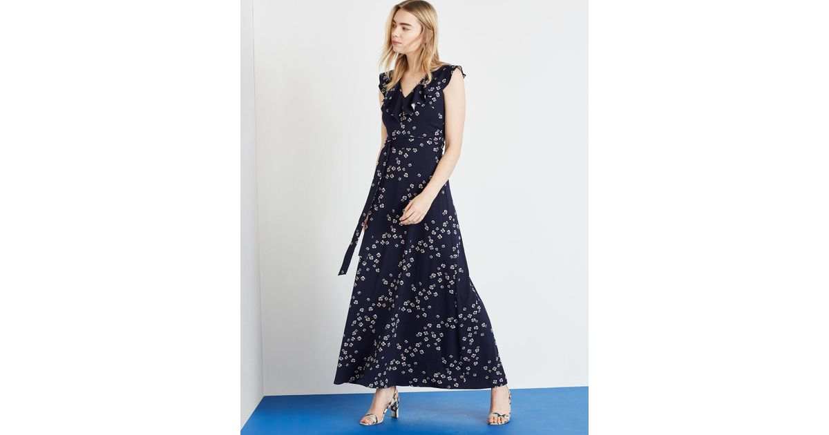 908805c6c7fd8f Phase Eight Navy And Multi Destiny Print Maxi Dress in Blue - Save 20% -  Lyst
