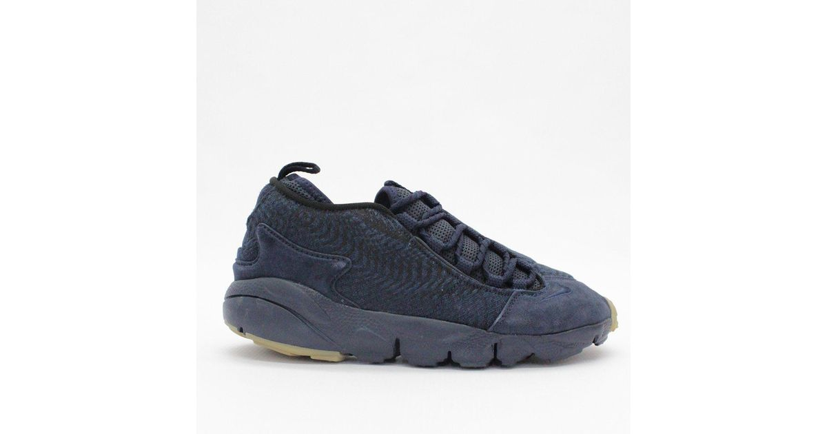 962424153d3957 Lyst - Nike Trainers Nike Air Footscape Nm Prm Jcrd Obsidian 918357 400 in  Blue for Men