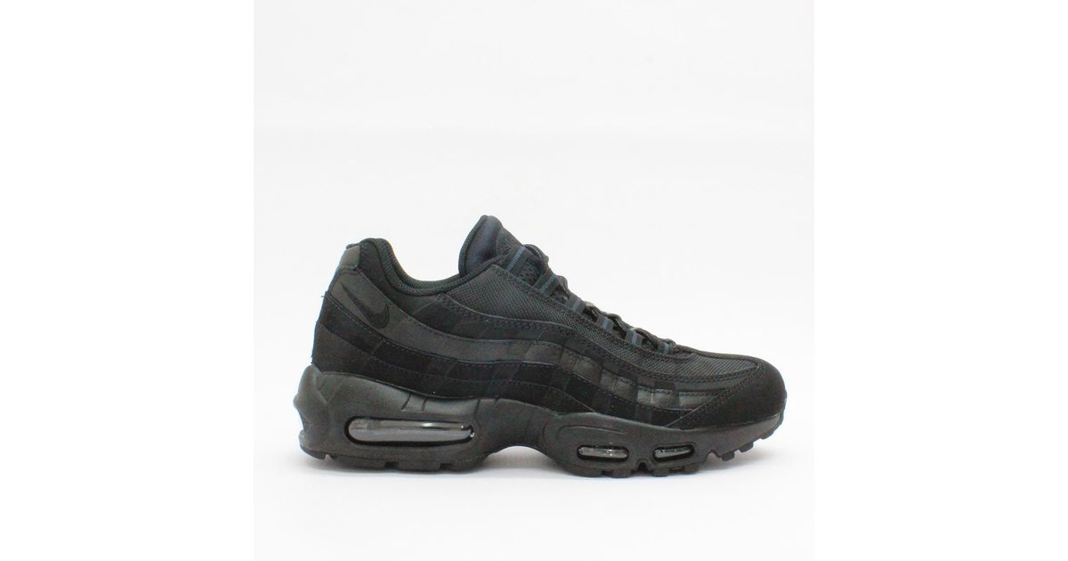 Lyst - Nike Trainers Nike Air Max 95 Black 609048 092 in Black for Men 612c82e2f