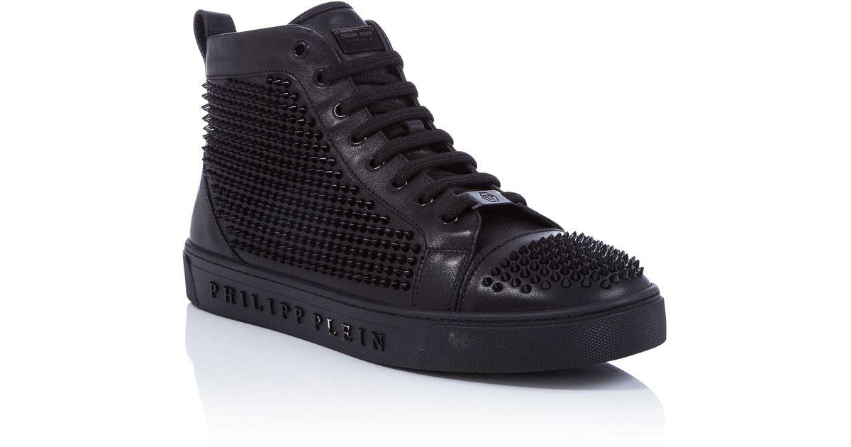 """Philipp Plein Hi-Top Sneakers """"Come in"""""""