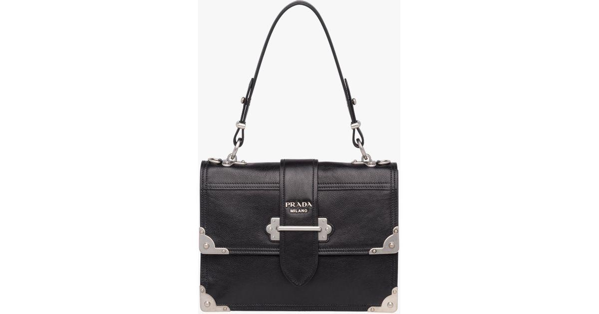 09590dc3abca9b Prada Cahier Printed Leather Handbag Prices | Stanford Center for ...