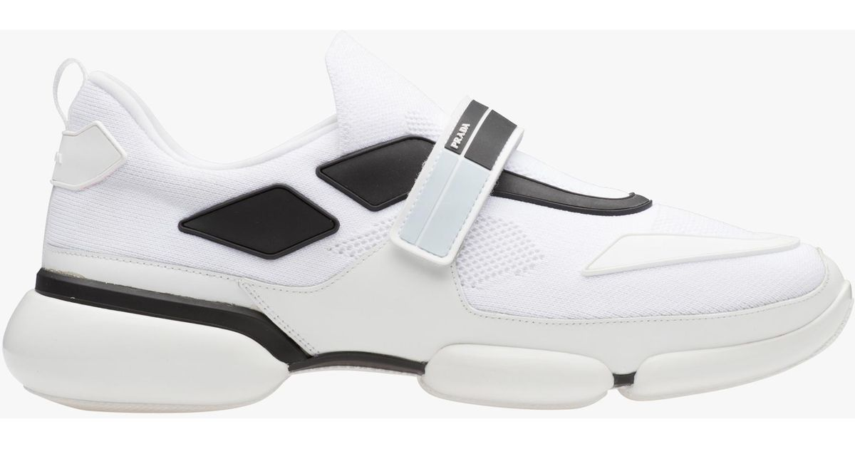 Prada White Cloudbust Sneakers p9MYC0