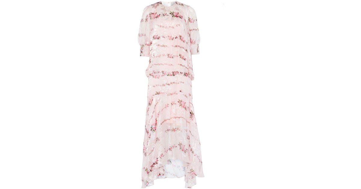 7e8f7e912d75 Lyst - Preen By Thornton Bregazzi Katy Dress in Pink - Save  15.335753176043553%