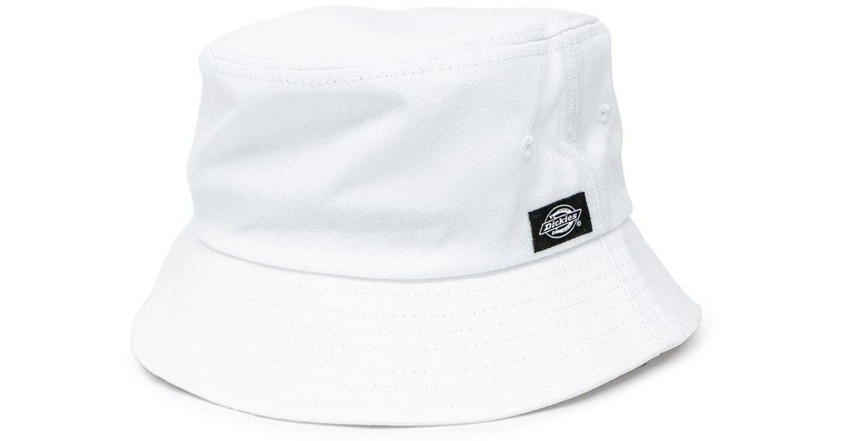 Lyst - Dickies Addison Bucket Hat in White 04c3da02884