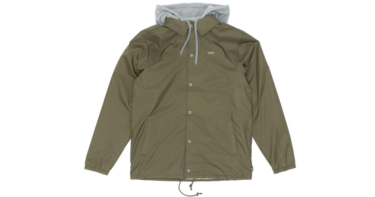 b781b12c2e9 Lyst - Vans Riley Jacket in Green for Men