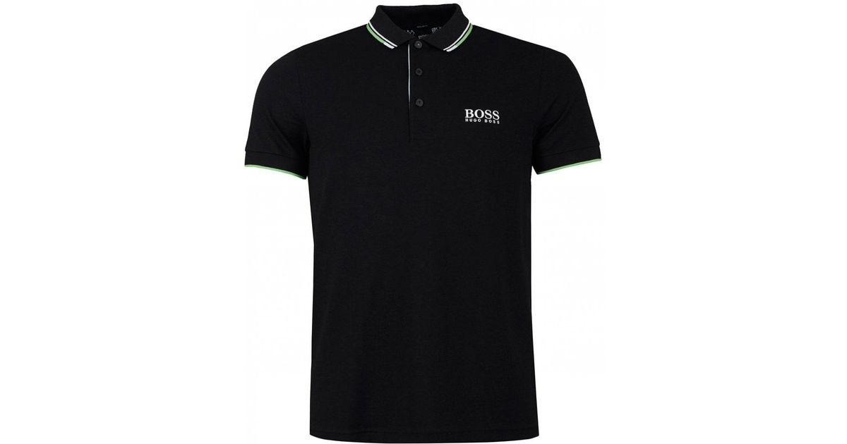 05895bb4560cf Lyst - BOSS Paddy 4 Pro Short Sleeved Polo in Blue for Men