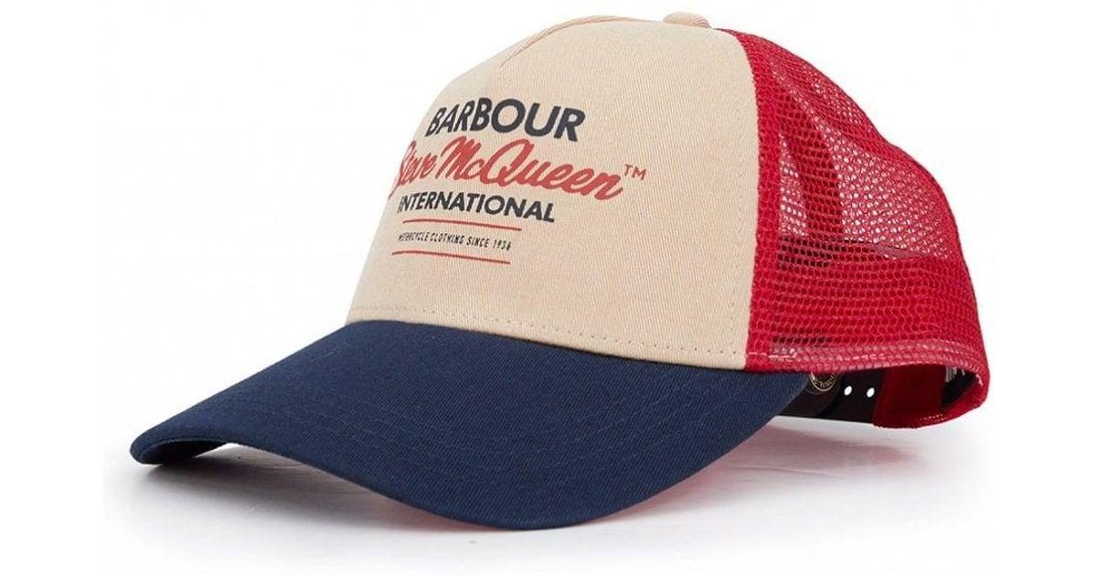 f77343ddf53e6f Barbour Trucker Cap in Blue for Men - Lyst