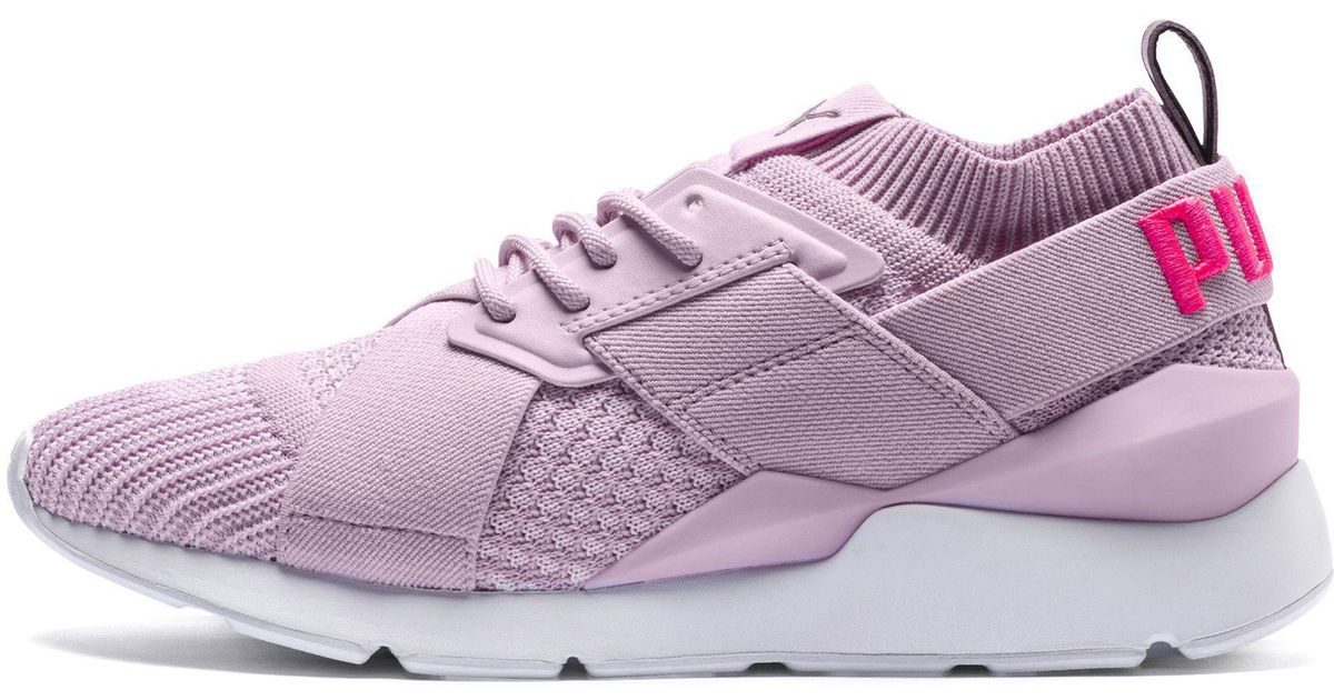 db2cba54bdd Lyst - PUMA Muse Evoknit Sneaker - Save 32%