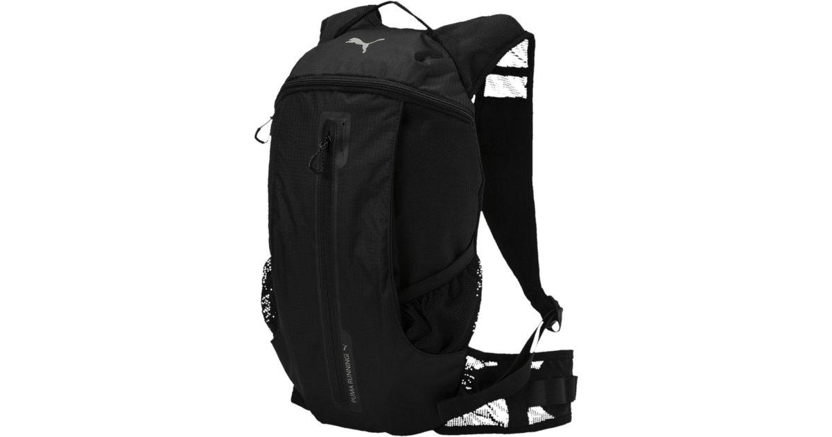 695a89c5b7 Lyst - PUMA Running Lightweight Backpack in Black for Men