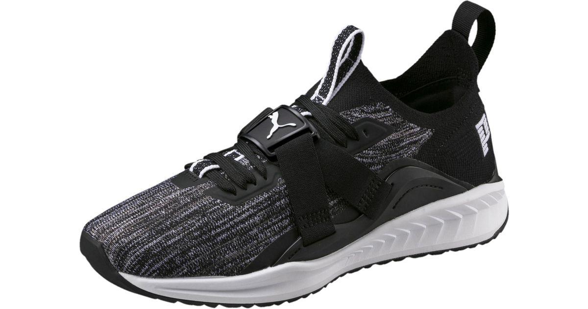ee01f28b6eda Lyst - PUMA Ignite Evoknit 2 Lo Men s Running Shoes in Black for Men